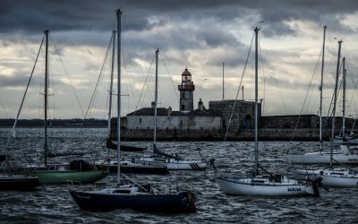 Cold and Windy Dun Laoghaire Pier walk